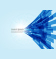 digital line technology concept abstract vector image vector image
