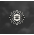 Photographer Logo Template Design Element vector image vector image