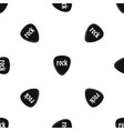 rock stone pattern seamless black vector image vector image