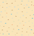 seamless small hill pattern on black vector image vector image