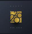 2020 new year logo - greeting design