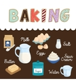 Baking icon design vector image vector image