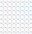 Colored with blue pointy squares on white vector image vector image