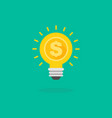 creative idea trading for money vector image