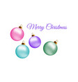 Merry christmas greeting card design with
