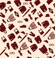 pattern fashionable mens wear background vector image vector image