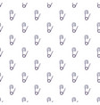 safety pin pattern seamless vector image vector image