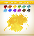 Water color texture vector image vector image