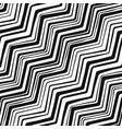 zigzag lines vector image