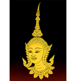 Angle thai motifs vector image vector image