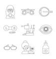 design medicine and technology symbol vector image
