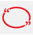 quote bubble blank icon design vector image
