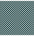 tile pattern with white polka dots on dark green vector image vector image