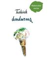 turkish dondurma vector image vector image