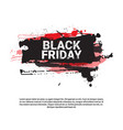 black friday flyer big holiday sale banner with vector image