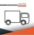 delivery service design vector image vector image