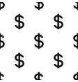 dollar signrealtor single icon in black style vector image vector image