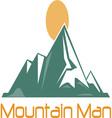 Mountain Man vector image vector image