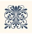 Ornamental floral element for design vector image vector image