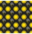 Seamless pattern weather vector image