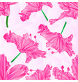 seamless texture rhododendrons pink polygons vector image vector image