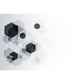 technological communication digital system vector image vector image