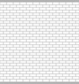 white brick wall seamless pattern bricks vector image