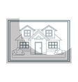 Architecture plans graphi design icon vector image