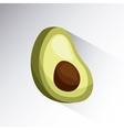 avocado icon image vector image vector image