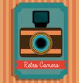 Camera digital design vector image