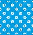 coin guarani pattern seamless blue vector image vector image
