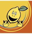 cute lemon vector image vector image