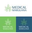 medical marijuana logo and icon 3