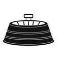 sport circle arena icon simple style vector image