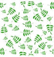 Summer Green Leaves Seamless Pattern vector image vector image