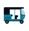 tuk tuk or rickshaw icon image vector image vector image