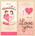 Valentines collections design vector image vector image
