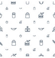 pepper icons pattern seamless white background vector image vector image
