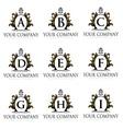 Royal Letter Logo vector image vector image