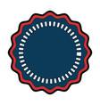 united states of america emblem frame vector image