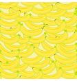 Banana seamless2 vector image vector image