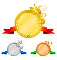 medals set 5 floral decorations