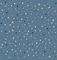 night sky background stars vector image vector image