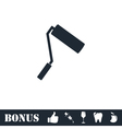 Paint Roller icon flat vector image vector image