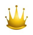 queen crown icon vector image vector image