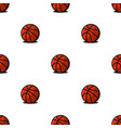 basketball balls sports seamless pattern modern vector image vector image