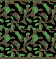 camouflage pattern seamless military background vector image vector image