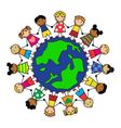 friendship peoples vector image