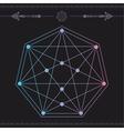 geometric icon magic 3 vector image vector image