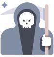 grim reaper flat vector image